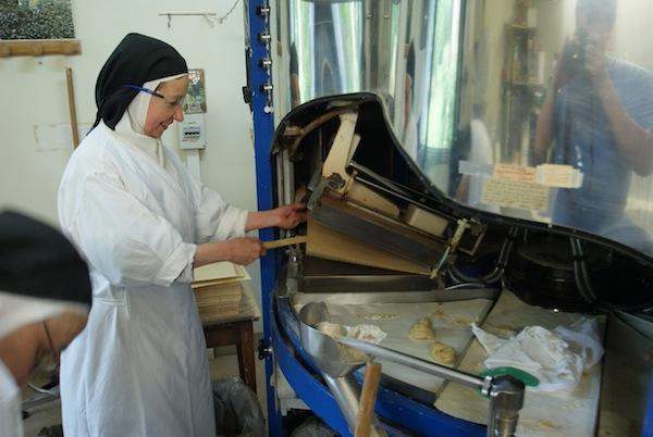 travail dans la vie monastique