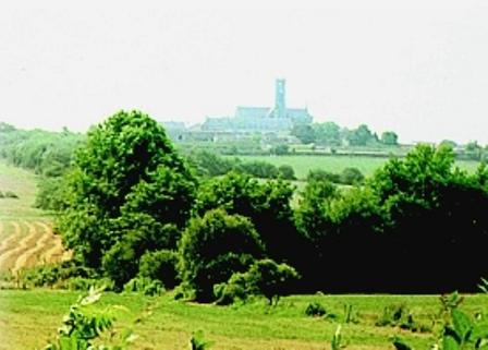 Abbaye Notre-Dame des Gardes à Saint-Georges-des-Gardes