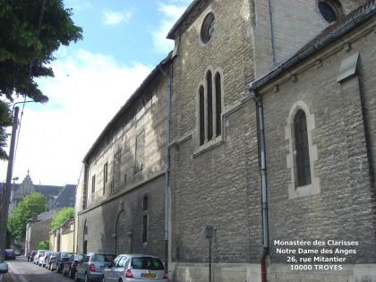 Clarisses de l'Adoration Perpétuelle à Troyes