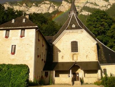 Monastery Notre-Dame de Chalais at Voreppe