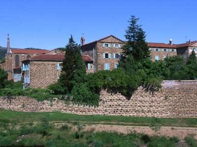 Monastery Sainte-Catherine de Sienne at Langeac