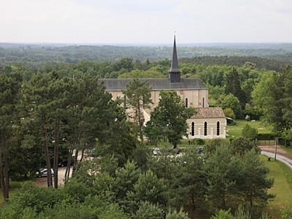 Abbey Notre-Dame de Bonne-Espérance at Echourgnac