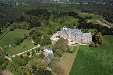 Abbaye Saint-Michel de Kergonan à Plouharnel
