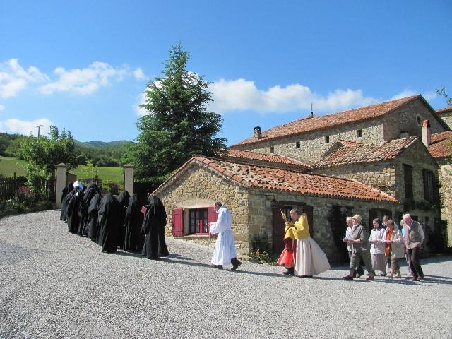 Abbaye Notre-Dame de Miséricorde à Rosans
