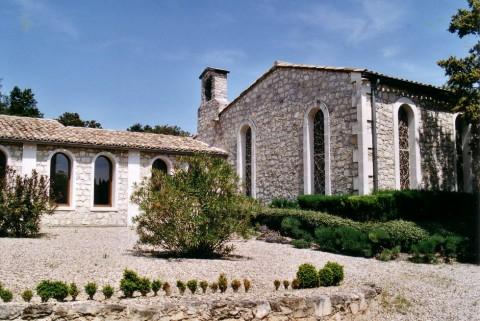 Monastère des Rédemptoristines à Saint-Restitut