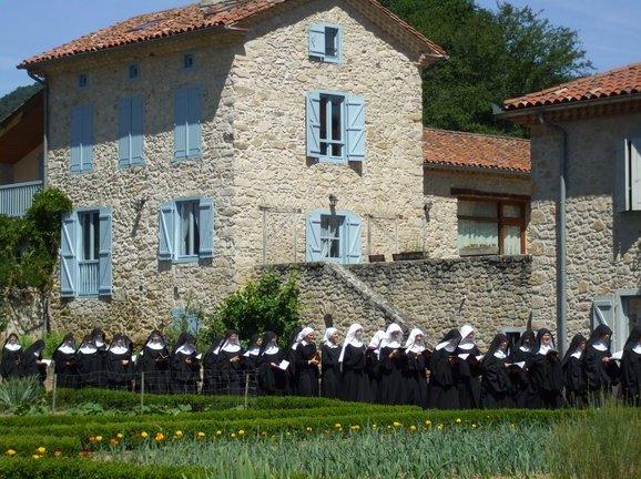 Abbaye Notre-Dame du Pesquié à Foix