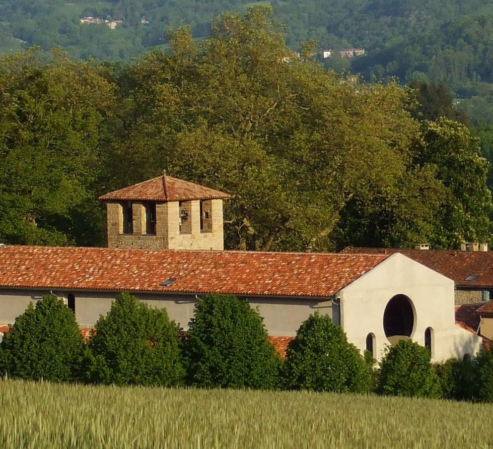 benpesquié3° - Abbey of Notre-Dame du Pesquié at Foix