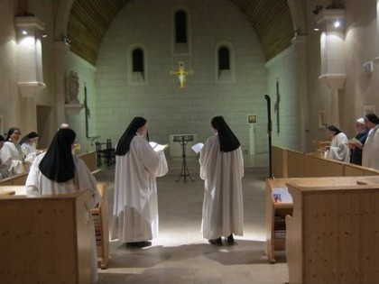 Abbey Notre-Dame de Bon-Secours at Blauvac