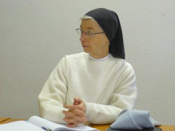 Sr Véronique, présidente du SDM