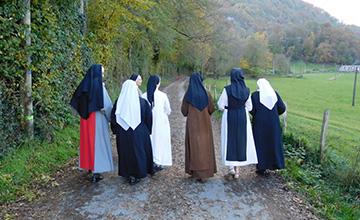 L'Eglise et la vie monastique - Dans nos Ordres