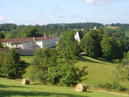 A l'abbaye bénédictine Sainte Marie de Maumont