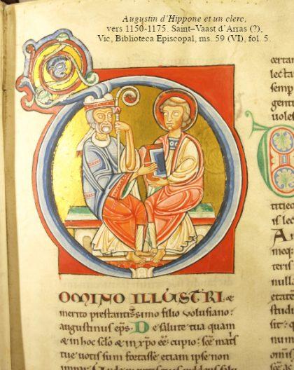 100 commentaires d'Augustin sur les Evangiles de Matthieu et Luc