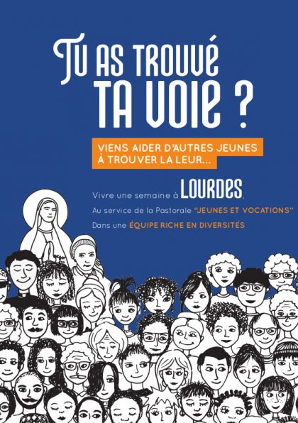 Vivre une semaine à Lourdes au service de la pastorale des jeunes