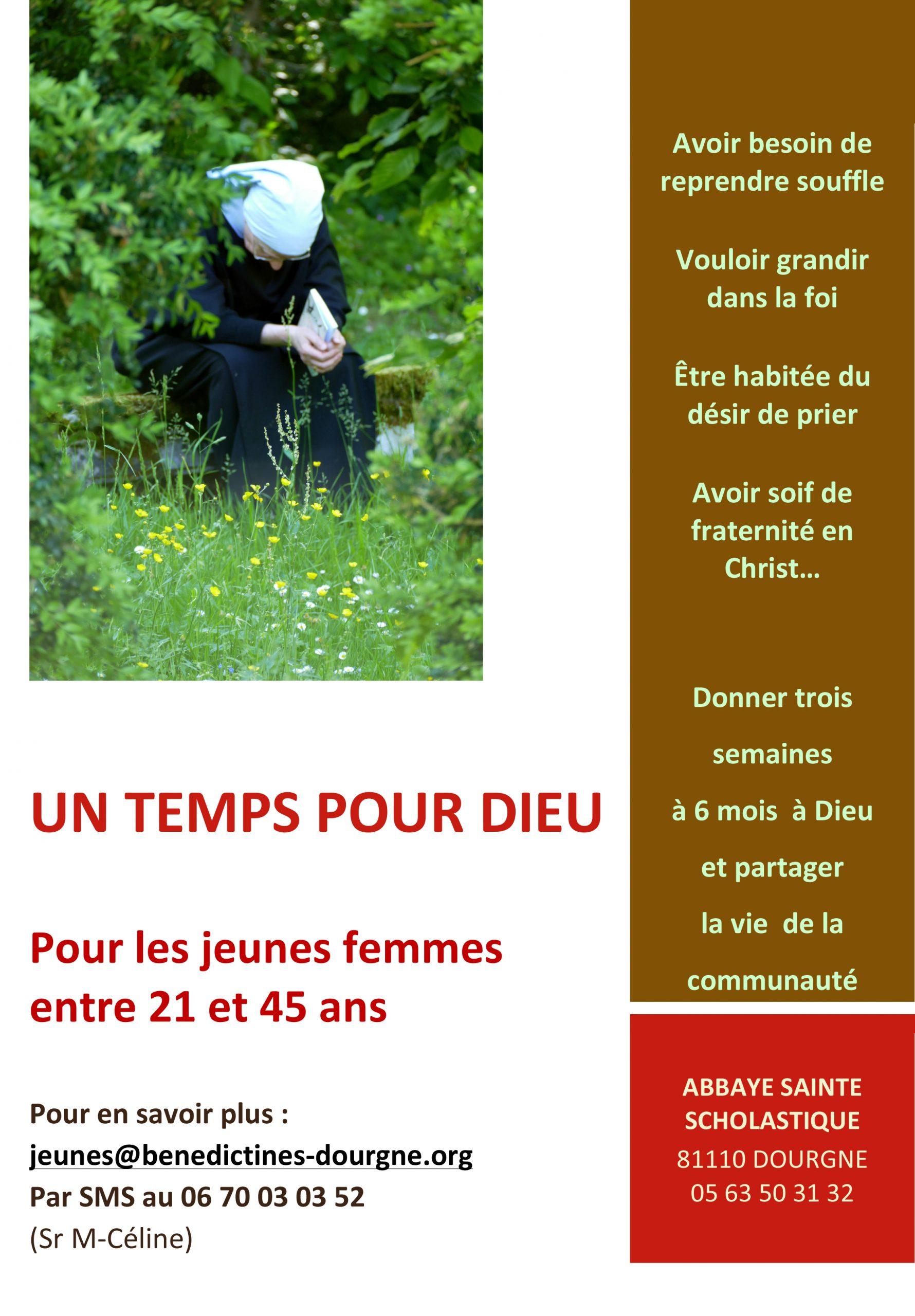 Un temps pour Dieu à l'Abbaye bénédictine de Dourgne