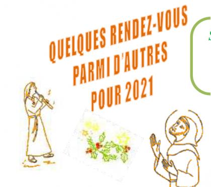 Divers stages en 2021 chez les clarisses de Cormontreuil